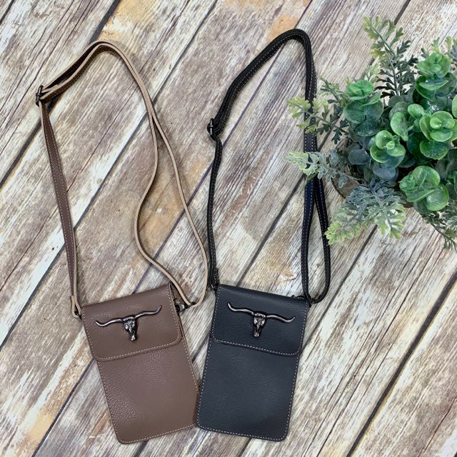 Montana West Steerhead Crossbody Purse