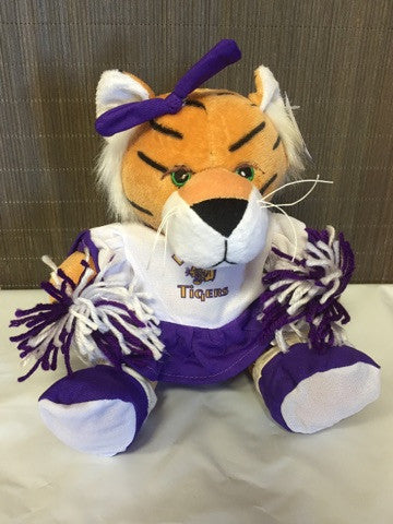 Dupree Tigers Sports Stuffed Animals - Keffeler Kreations | HilltopBoutique.com - 1