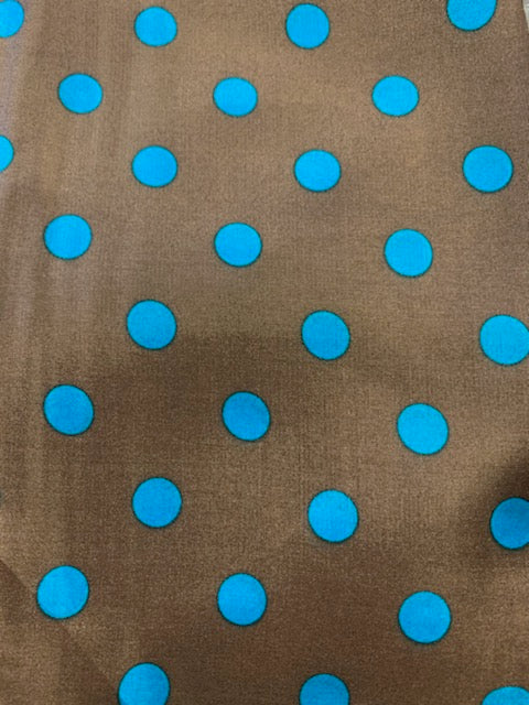 Cowboy Polka Dot Silk Scarves