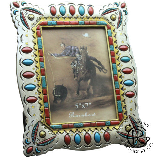 Silver Beaded 8X10 Frame