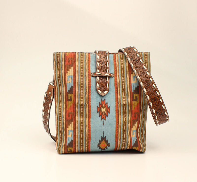 Blazin Roxx  Southwest Crossbody Concealed Weapon Multi Colored