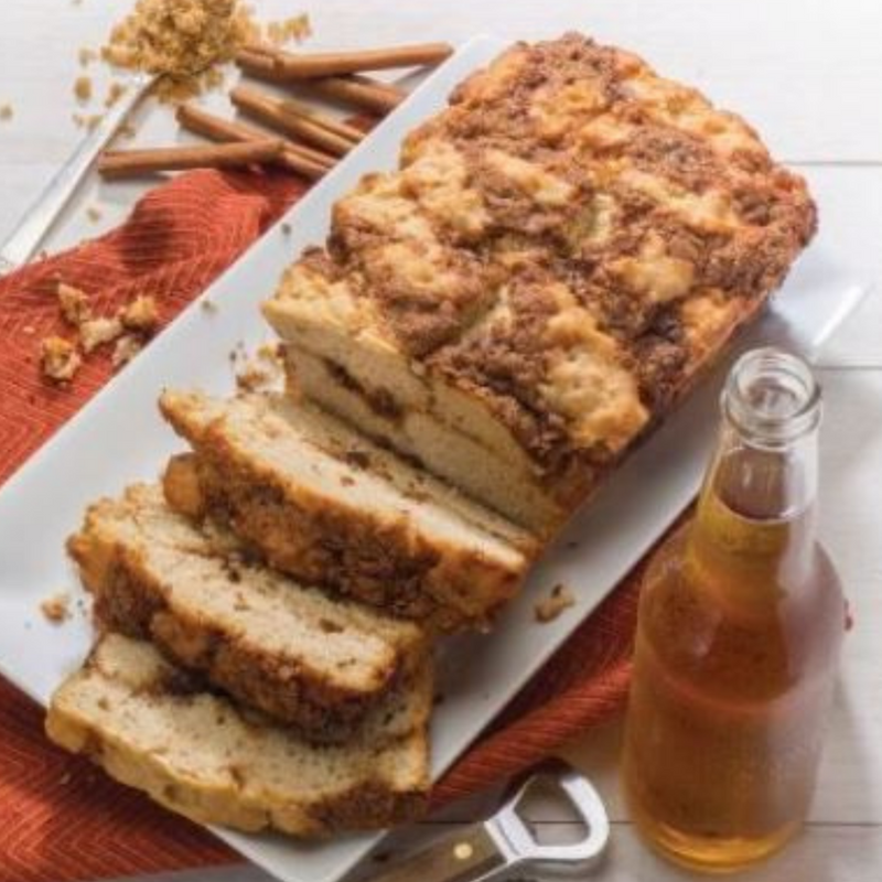 Cinnamon Crumble Beer Bread Mix