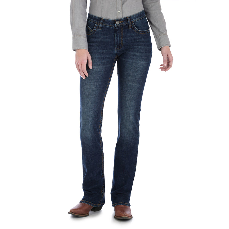 Women's Wrangler Willow The Ultimate Riding Bootcut Denim Jean