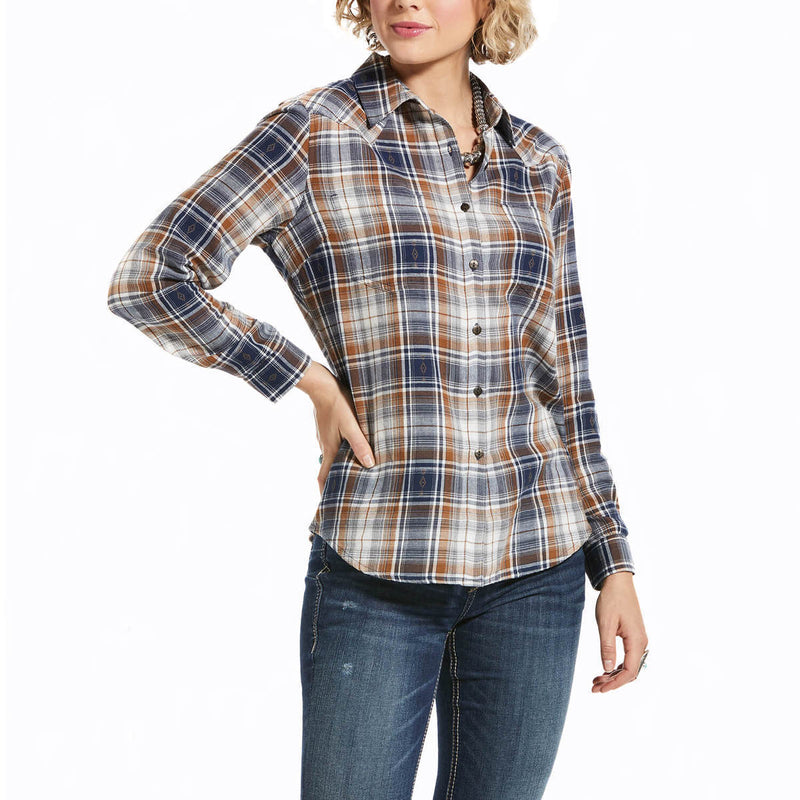 Women's Ariat REAL Billie Jean Long Sleeve Shirt