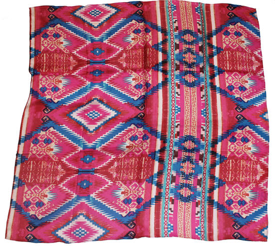 Aztec Silk Scarves