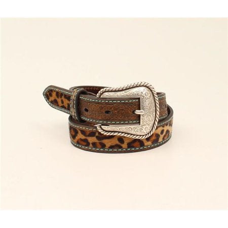 Girl's Leopard Torque Stitch Belts
