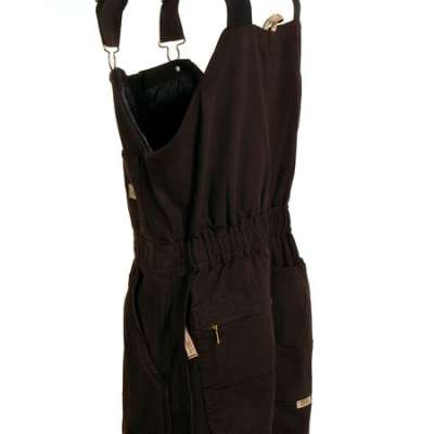 Berne WB515 DBN Women's Brown Insulated Bib Overalls