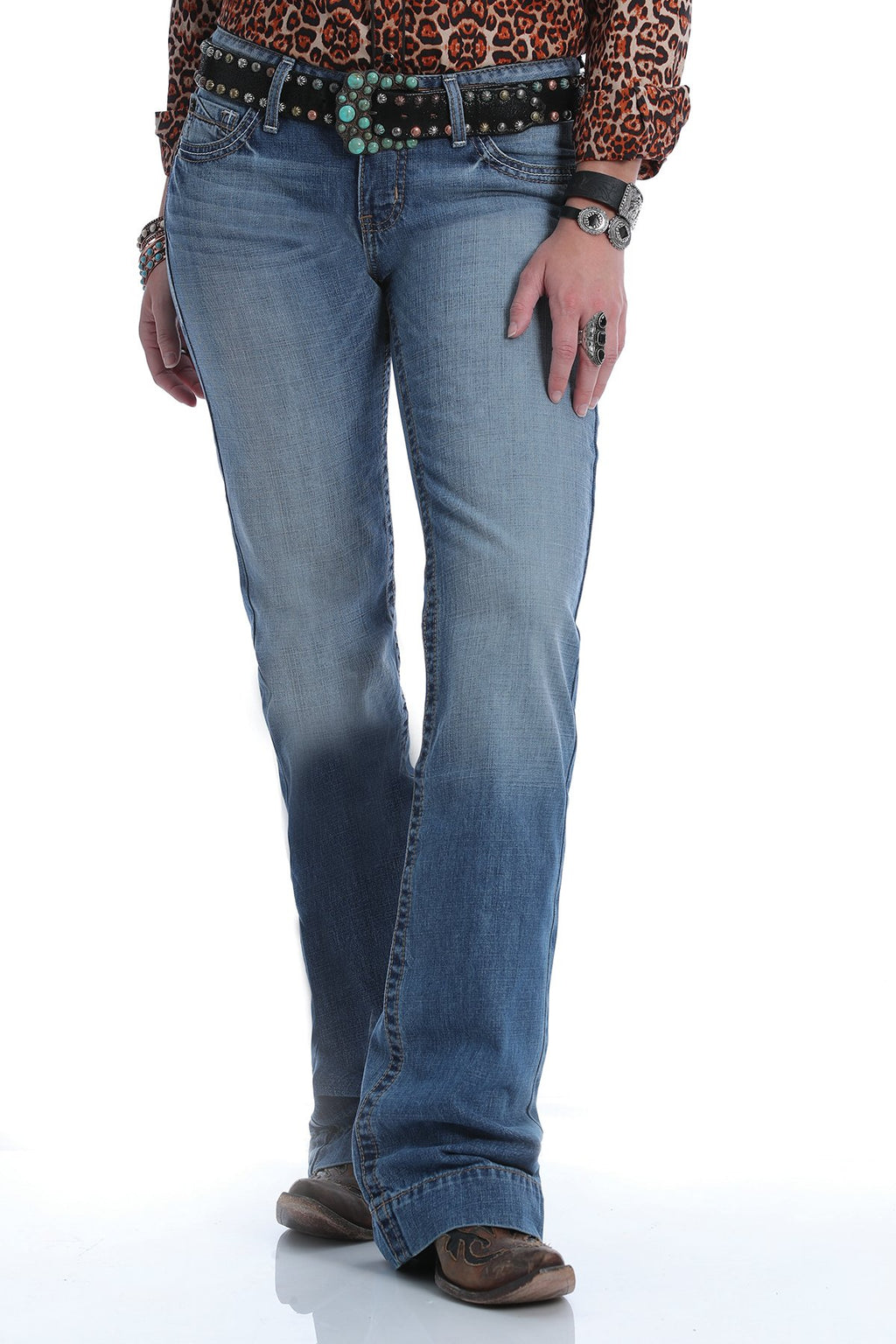 Women's Jayley Trouser Jean-Light Stonewash