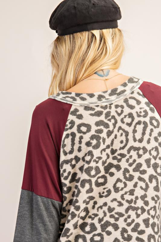 Women's Leopard Top