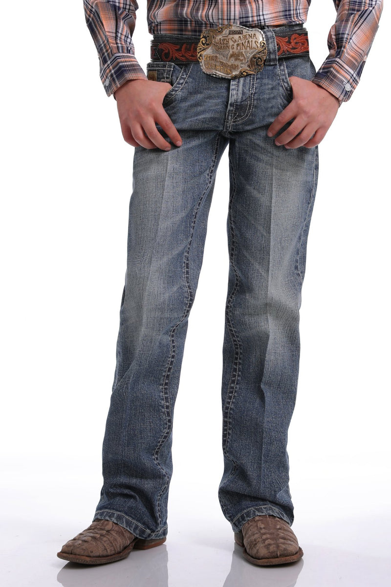 Boy's Cinch Slim Fit ArenaFlex Denim Jean