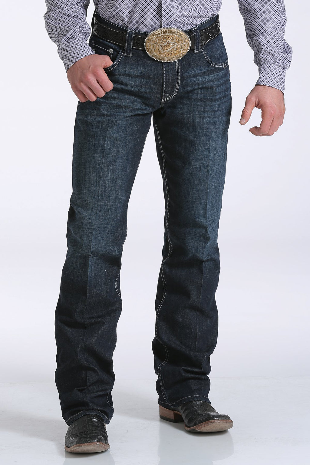 Men's Cinch Carter 2.4 Performance Dark Rinse Denim Jean
