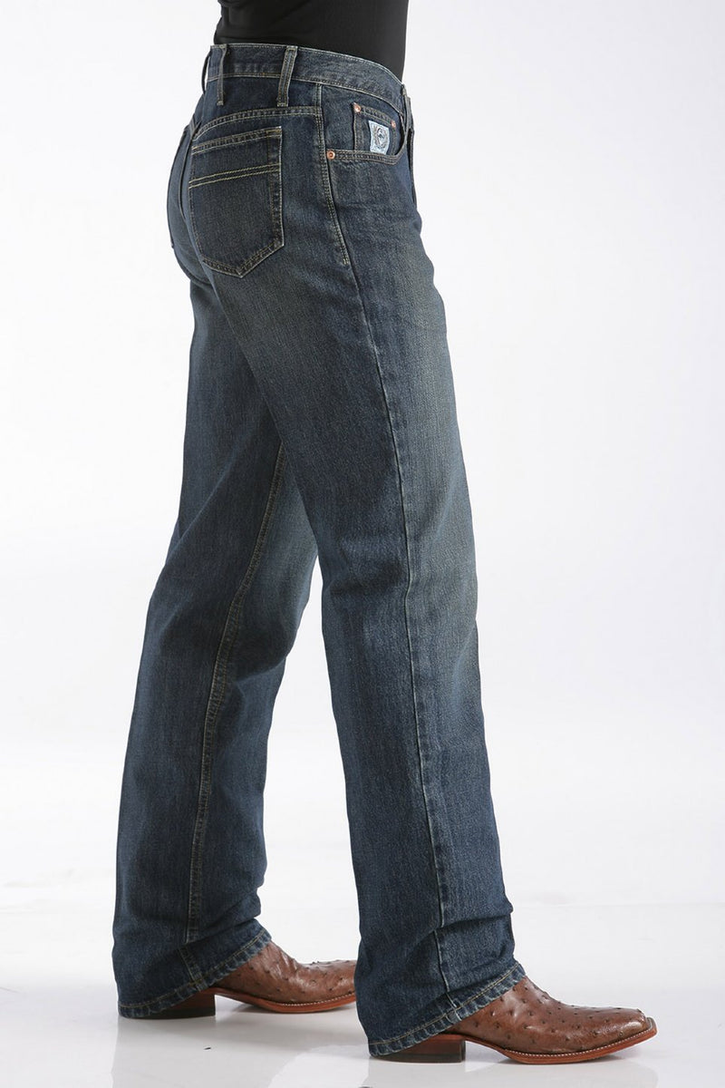 Men's Cinch White Label Dark Stone Denim Jean