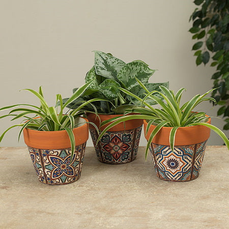 Lisbon Tile Ceramic Planter