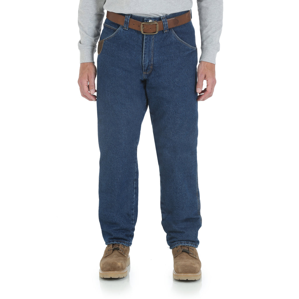 Wrangler Men's RIGGS WORKWEAR® Lined Relaxed Fit Jean