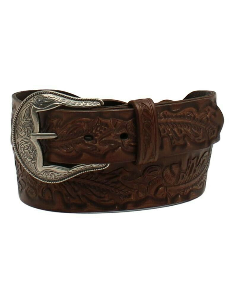 Women's Angel Ranch 1 1/2 Braided Acorn Brown Belt
