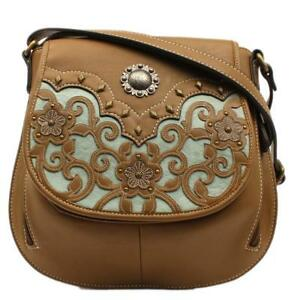 Blazin Roxx Calico Kate Crossbody Concealed Weapon Brown