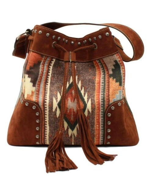 Blazin Roxx Womens Handbag Purse Josie Messenger Concealed Weapon Multi