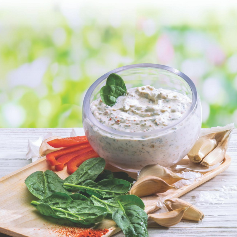 Sweet & Savory Spinach Party Dip Mix