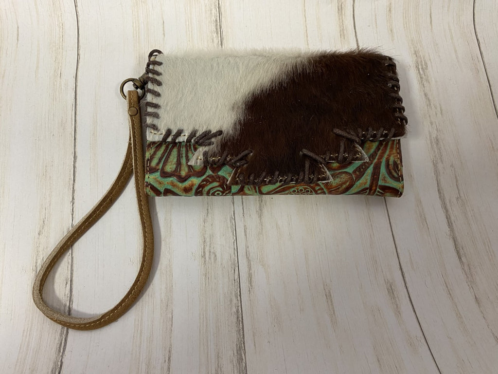 Cowhide Leather Phone Wallet