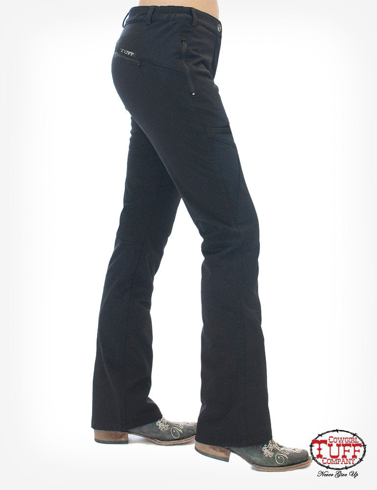 Women's Cowgirl Tuff Micro-Stretch Work Fleece Pant
