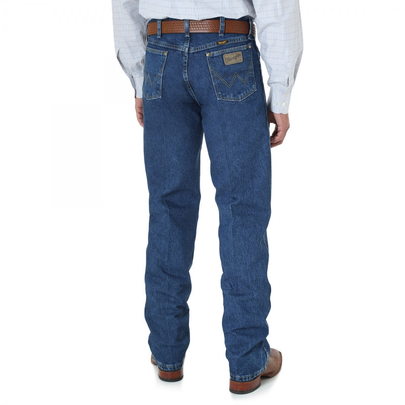 Wrangler Men's George Strait Cowboy Cut Jeans Relaxed Fit - Keffeler Kreations | HilltopBoutique.com - 2