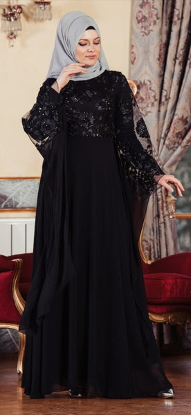 Black Maxi Dress/Abaya