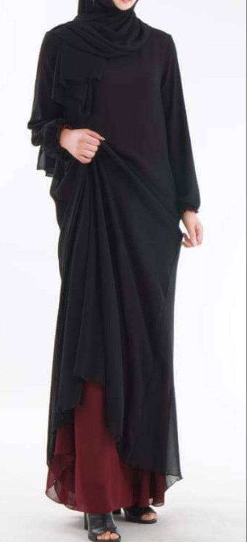Double sided Abaya