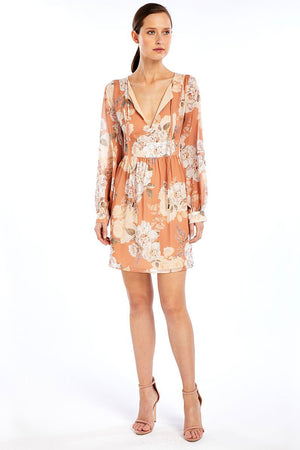 WE ARE KINDRED Nellie Silk Mini Dress