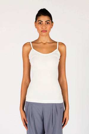 The Laura Singlet- Ivory