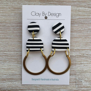 CLAY BY DESIGN Large Dangles