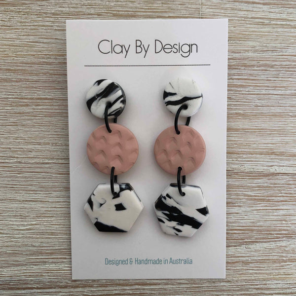CLAY BY DESIGN Large Dangles - Drops
