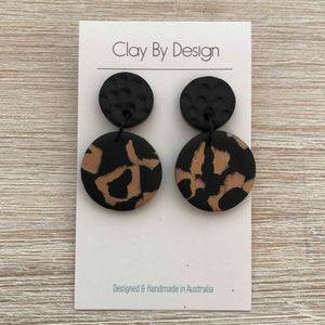 CLAY BY DESIGN Medium Dangles - Clay