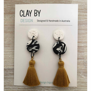 CLAY BY DESIGN Cotton Tassels - Large