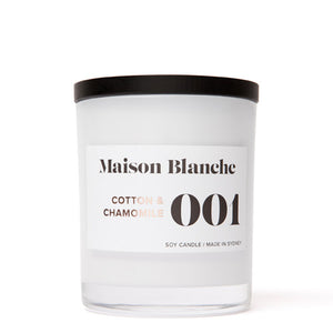 MAISON BLANCHE Large Candle - All Fragrances