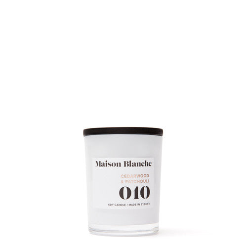 MAISON BLANCHE Small Candle - All Fragrances