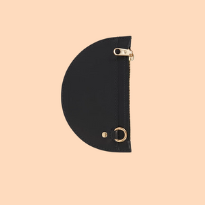 SIMETRIE XS Crescent Moon Pouch in Night