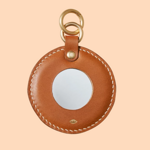 SIMETRIE Full Moon Mirror Charm in Bark
