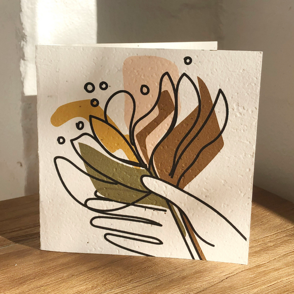 INARTISAN Plantable Card Banksia
