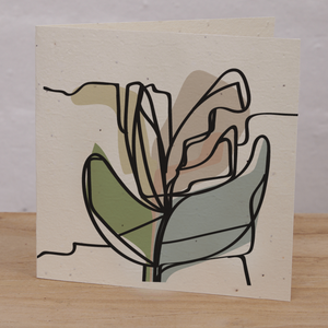INARTISAN Plantable Card Leafy Spring