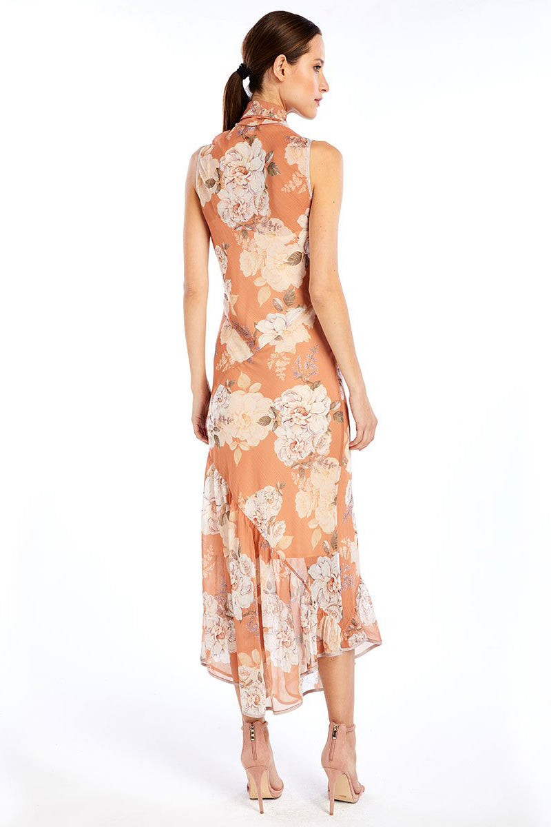 81c5d78bb008 WE ARE KINDRED Nellie Silk Bias Dress in Peach Blossom
