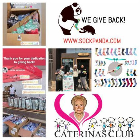 The Sock Panda recently partnered with Caterina's Club