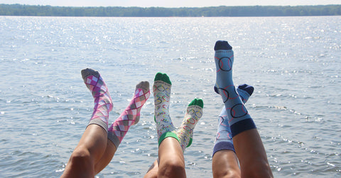Socks and Summer!