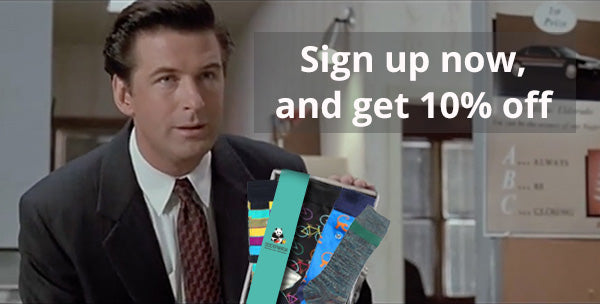 Sign up now, and get 10% off