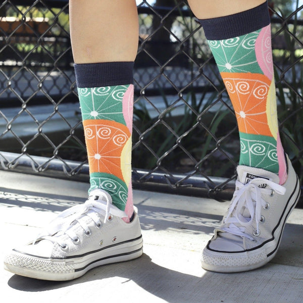 Citrus Pattern Lifestyle - Sock Panda