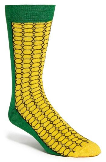 Corn of the Cob Socks from the Sock Panda Right