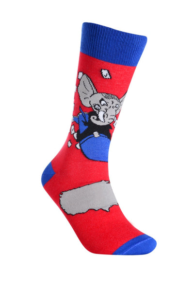 Political Humor Elephant Right - Sock Panda