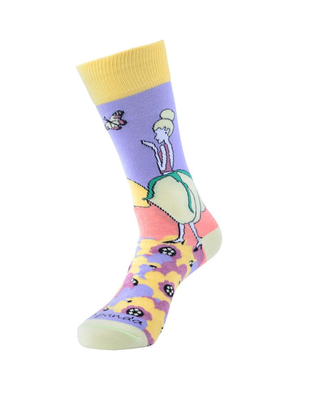 Flower Fairies left - Sock Panda