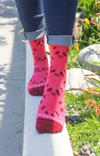 Panda Pattern Women Lifestyle - Sock Panda