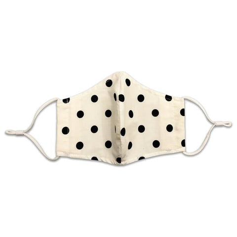Polka Dot Mask Front - Sock Panda