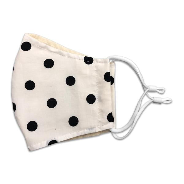 Polka Dot Mask Side - Sock Panda
